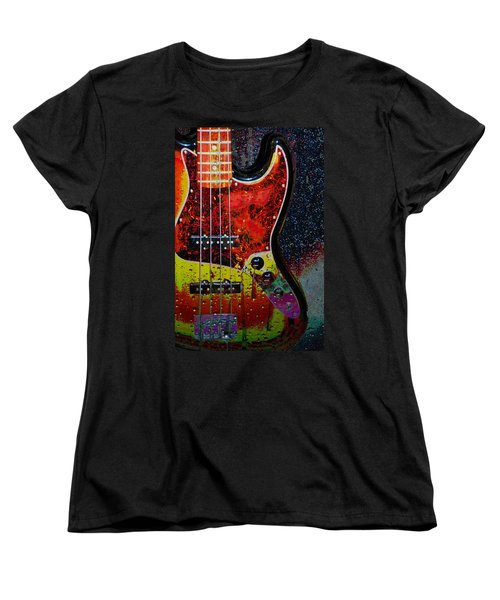Women's T-Shirt (Standard Cut) featuring the photograph Rain Over Me by Jan Amiss Photography