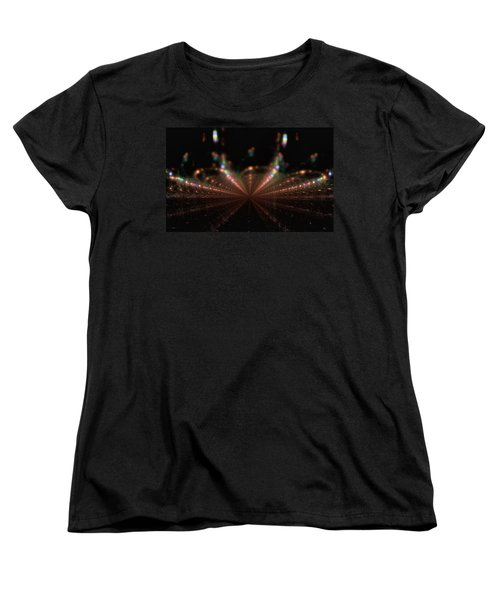 Rainy City Night Women's T-Shirt (Standard Cut) by GJ Blackman