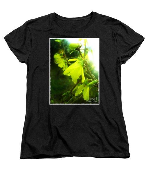 Rainy Dream Women's T-Shirt (Standard Cut) by Nina Ficur Feenan