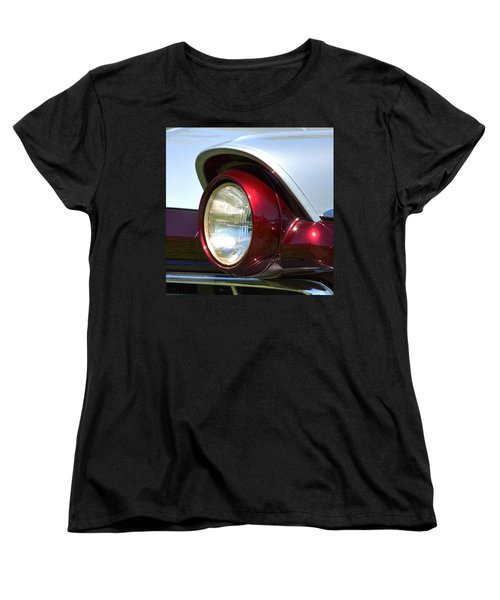 Ranch Wagon Headlight Women's T-Shirt (Standard Cut) by Dean Ferreira