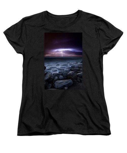 Raw Power Women's T-Shirt (Standard Cut) by Jorge Maia