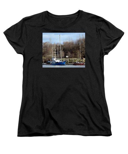 Raymond Fishing Boats Women's T-Shirt (Standard Cut)
