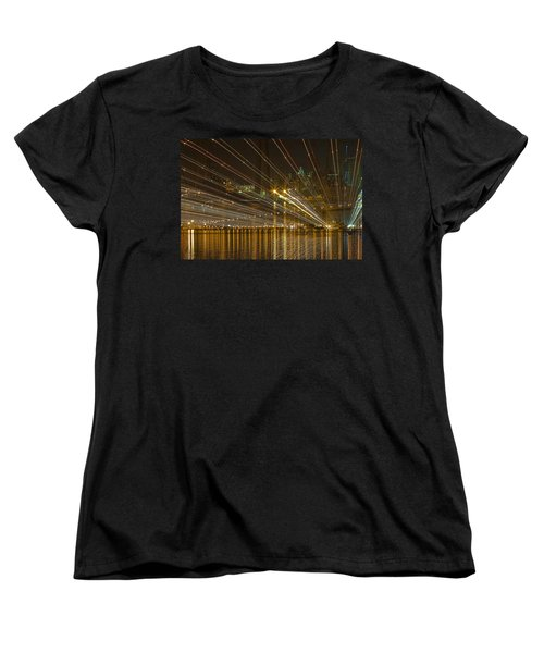 Women's T-Shirt (Standard Cut) featuring the photograph Rays Over The Bay by Gary Holmes
