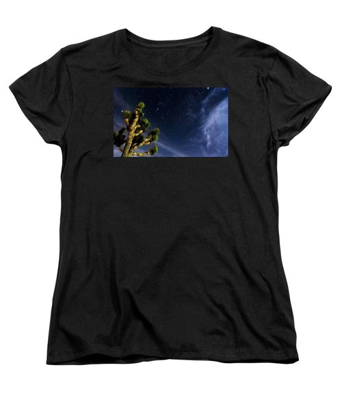 Reaching For The Stars Women's T-Shirt (Standard Cut) by Angela J Wright