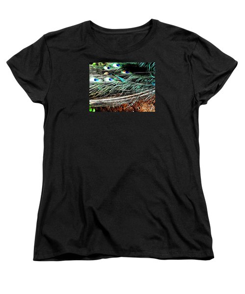 Women's T-Shirt (Standard Cut) featuring the photograph Realpeack by Vanessa Palomino