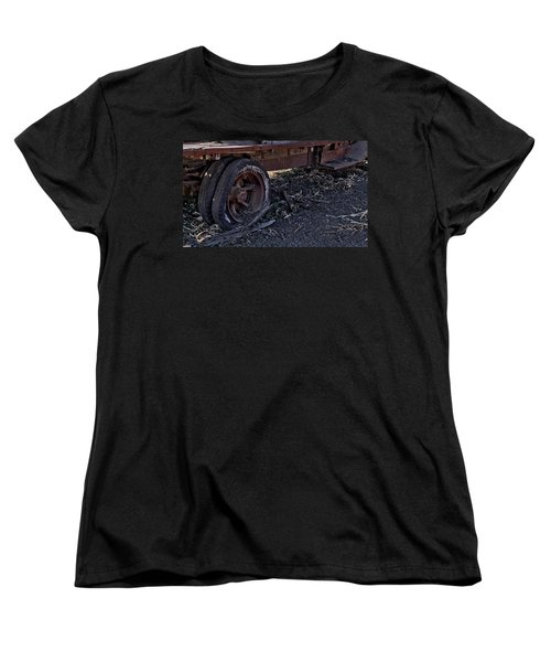 Women's T-Shirt (Standard Cut) featuring the photograph Rear Wheel Drive by Michael Gordon