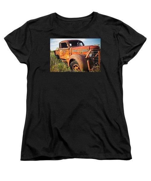 Women's T-Shirt (Standard Cut) featuring the photograph Red Diamond by Steven Bateson