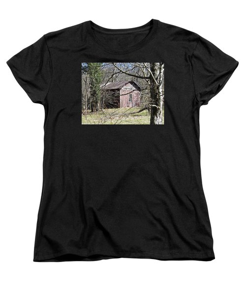 Women's T-Shirt (Standard Cut) featuring the photograph Red House by Nick Kirby