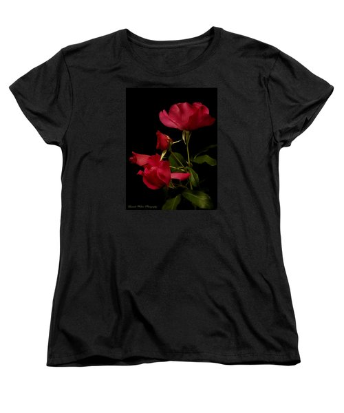 Women's T-Shirt (Standard Cut) featuring the photograph Red Is For Passion by Lucinda Walter