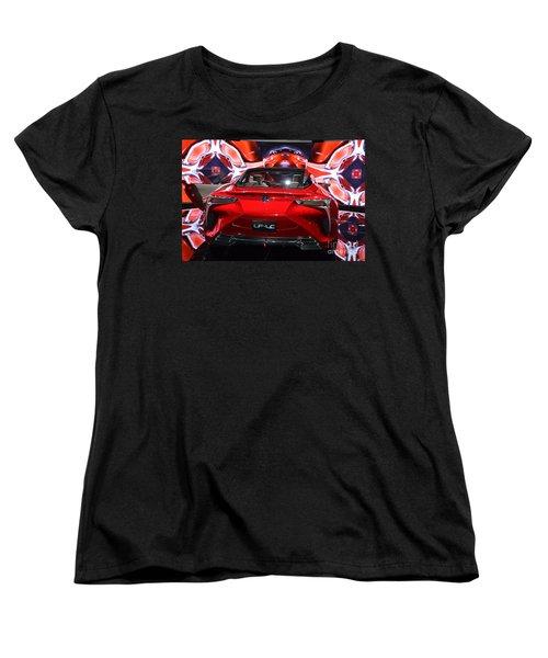 Red Velocity Women's T-Shirt (Standard Cut)