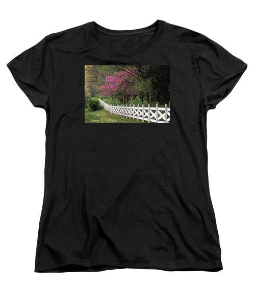 Redbud - Fs000814 Women's T-Shirt (Standard Cut) by Daniel Dempster