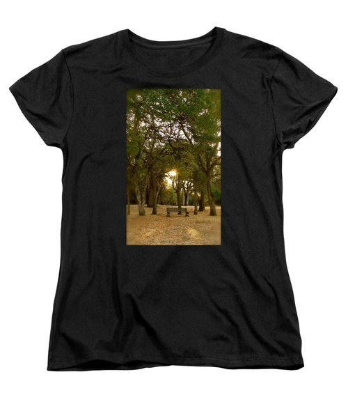 Reflection At Sunrise Women's T-Shirt (Standard Cut) by Michele Myers