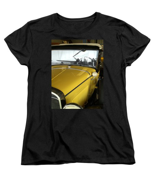Reflection Of The Past Women's T-Shirt (Standard Cut) by Bill Gallagher