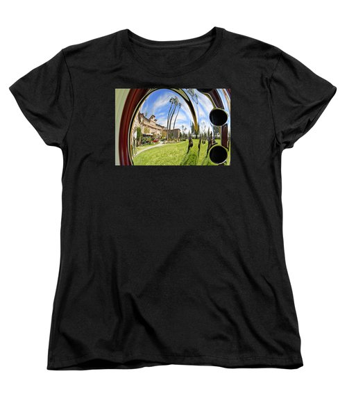 Women's T-Shirt (Standard Cut) featuring the pyrography Reflections Of A 1937 Cord by Shoal Hollingsworth