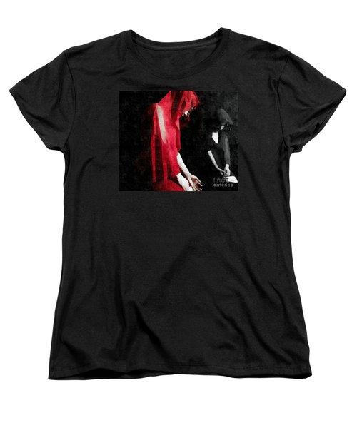 Reflections Of A Broken Heart Women's T-Shirt (Standard Cut) by Jessica Shelton
