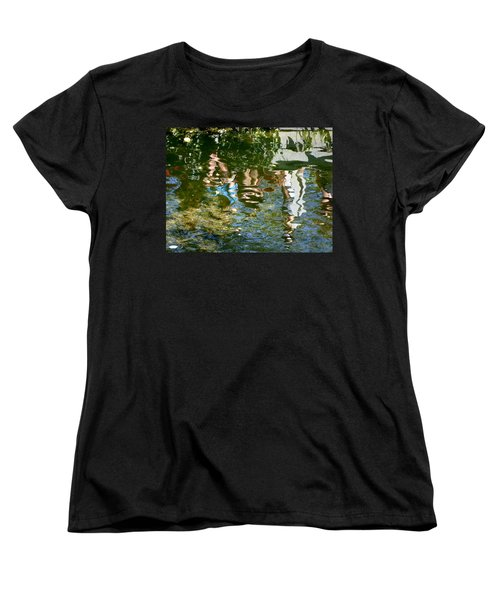 Reflections Of A Parade Women's T-Shirt (Standard Cut) by Amelia Racca