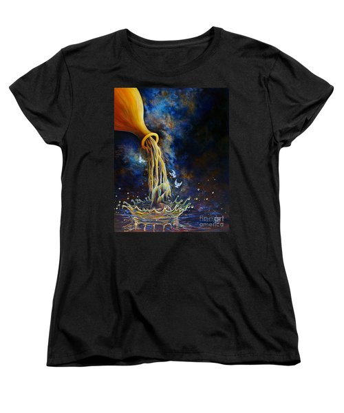 Regeneration Women's T-Shirt (Standard Cut) by Nancy Cupp