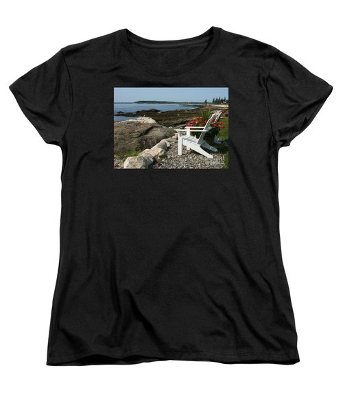 Women's T-Shirt (Standard Cut) featuring the photograph Relaxing Afternoon by Mariarosa Rockefeller