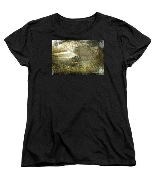 Reminiscing Women's T-Shirt (Standard Cut) by Ellen Cotton