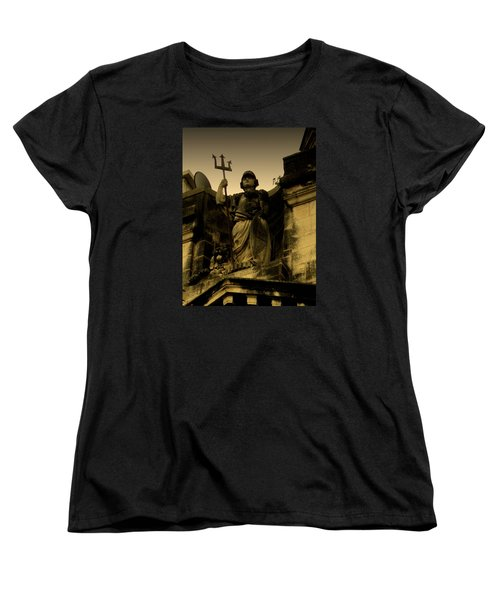 Women's T-Shirt (Standard Cut) featuring the photograph Trident To The Sky by Salman Ravish