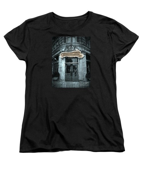 Women's T-Shirt (Standard Cut) featuring the photograph Rendezvous Lounge - Lancaster Pa. by Joseph J Stevens