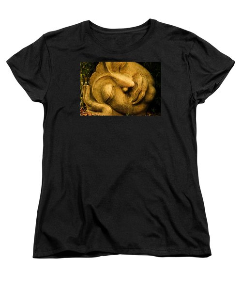 Resting Buddha 2 Women's T-Shirt (Standard Cut) by Nadalyn Larsen