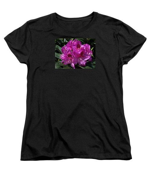 Women's T-Shirt (Standard Cut) featuring the photograph Rhododendron ' Anah Kruschke ' by William Tanneberger