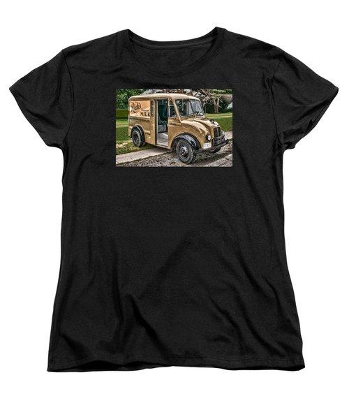 Rich's Milk Women's T-Shirt (Standard Cut) by Guy Whiteley