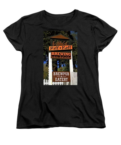 Riff Raff Brewing Women's T-Shirt (Standard Cut)