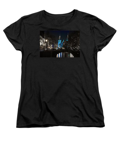 Rijksmuseum In Blue Women's T-Shirt (Standard Cut) by Jonah  Anderson