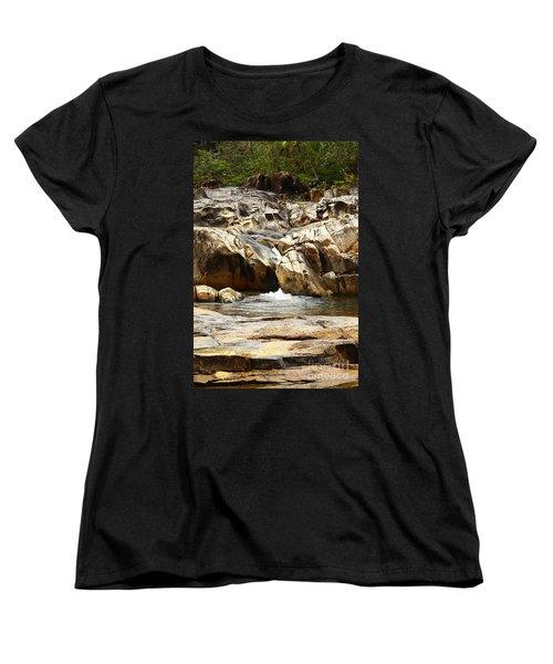 Rio On Pools Women's T-Shirt (Standard Cut) by Kathy McClure