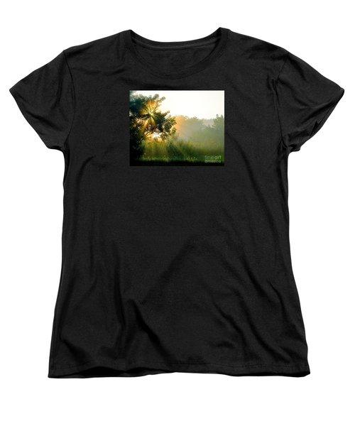 Rise And Shine Women's T-Shirt (Standard Cut) by Sue Stefanowicz