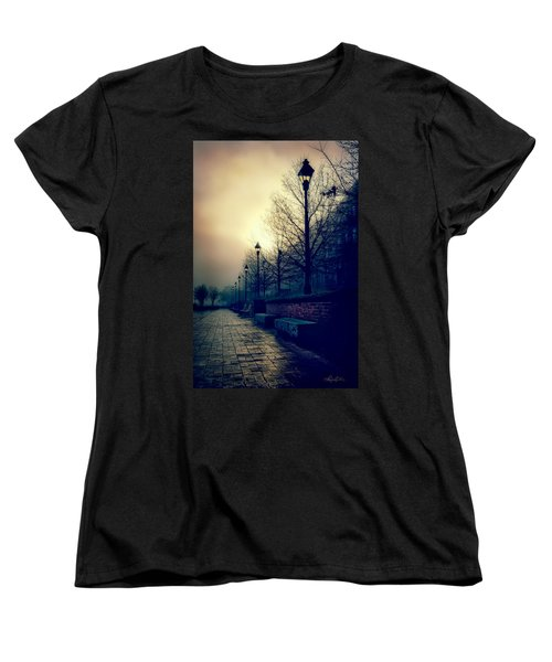 River Street Solitude Women's T-Shirt (Standard Cut) by Renee Sullivan