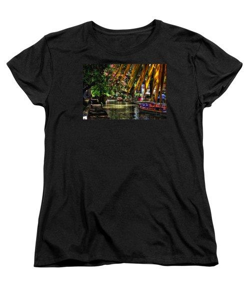 Riverwalk II Women's T-Shirt (Standard Cut) by Tricia Marchlik