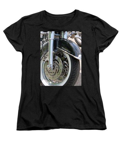Road King Women's T-Shirt (Standard Cut) by Kay Novy