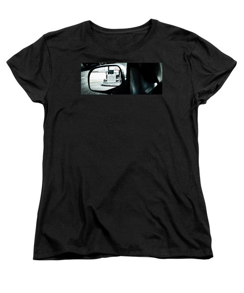 Women's T-Shirt (Standard Cut) featuring the photograph Road Rage by Aaron Berg