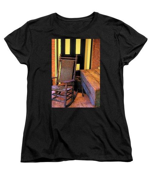 Rocking Chair And Woodbox Women's T-Shirt (Standard Cut)