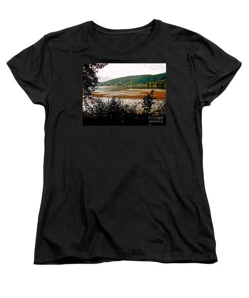 Rocky Point Port Moody Women's T-Shirt (Standard Cut) by Sher Nasser