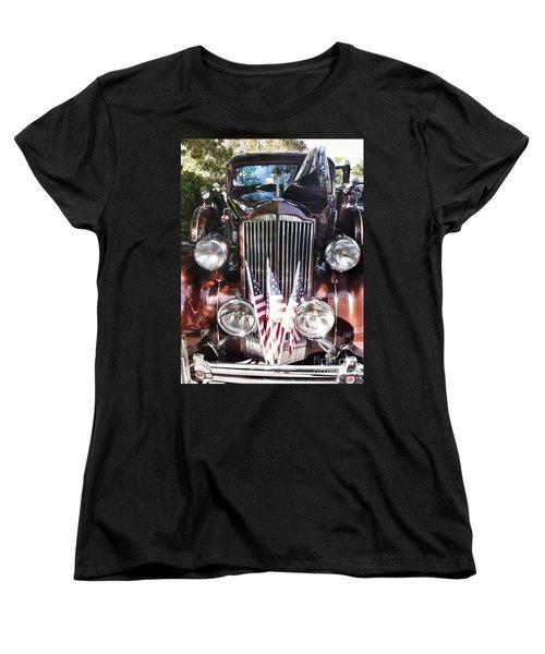 Rolls Royce Car  Women's T-Shirt (Standard Cut) by Susan Garren
