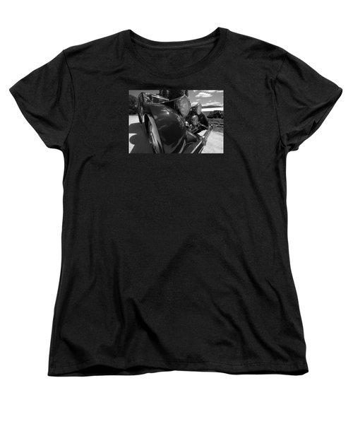 Women's T-Shirt (Standard Cut) featuring the photograph Rolls Royce Station Wagon by John Schneider