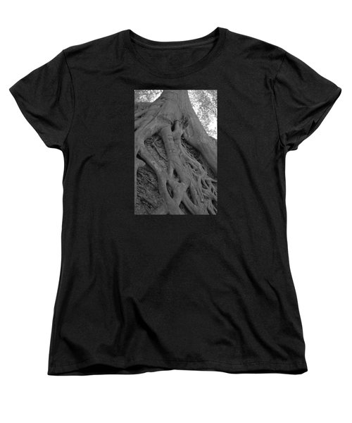 Roots II Women's T-Shirt (Standard Cut) by Suzanne Gaff