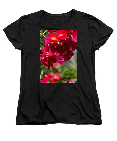 Women's T-Shirt (Standard Cut) featuring the photograph Rose Bouquet by Michele Myers
