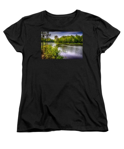 Women's T-Shirt (Standard Cut) featuring the photograph Round The Bend 35 by Mark Myhaver