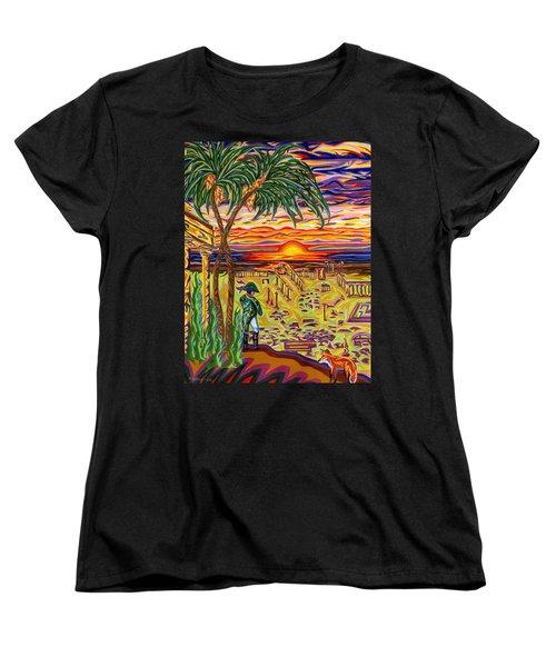 Ruins Of Empires Women's T-Shirt (Standard Cut) by Robert SORENSEN