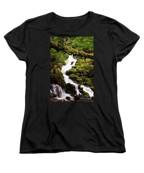 Women's T-Shirt (Standard Cut) featuring the photograph Running Wild by Suzanne Luft
