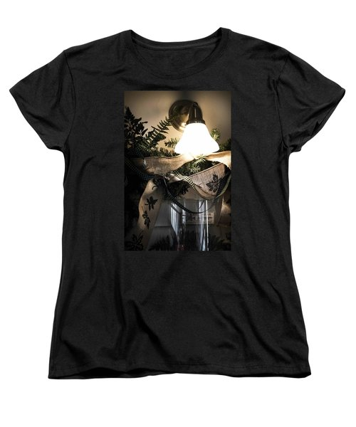 Women's T-Shirt (Standard Cut) featuring the photograph Rustic Holiday by Patricia Babbitt