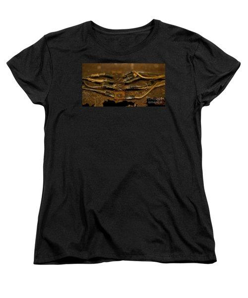 Rusty Wires Women's T-Shirt (Standard Cut) by Wilma  Birdwell