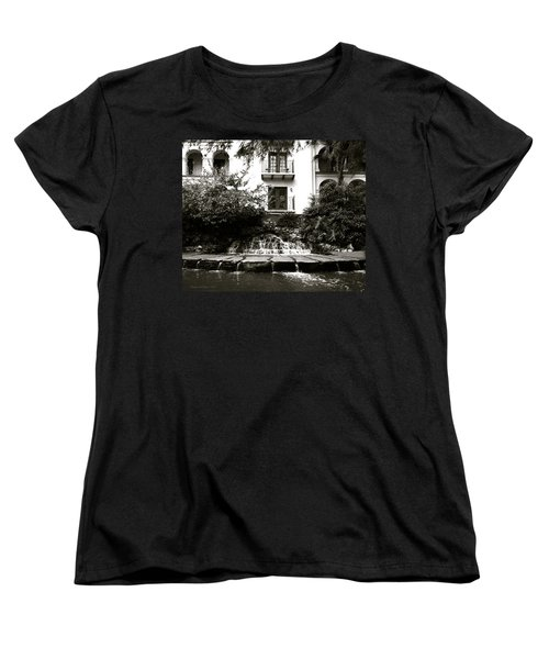 Sa River Walk 001-2013 Women's T-Shirt (Standard Cut) by Shawn Marlow