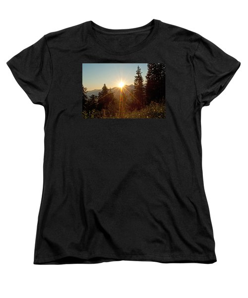 Sabbath Sunset Women's T-Shirt (Standard Cut) by Tikvah's Hope