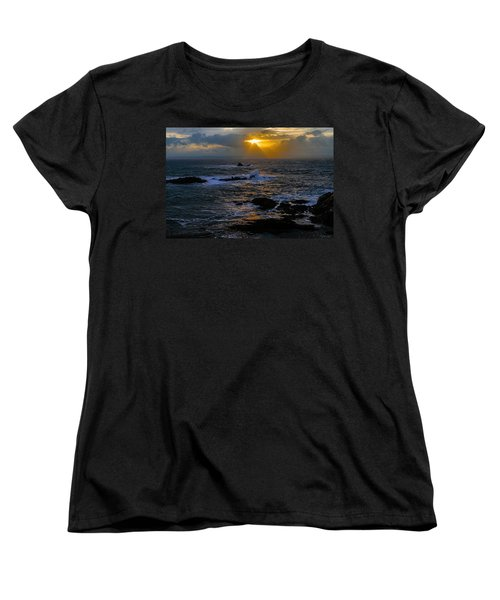 Sail Rock Sunrise Women's T-Shirt (Standard Cut) by Marty Saccone
